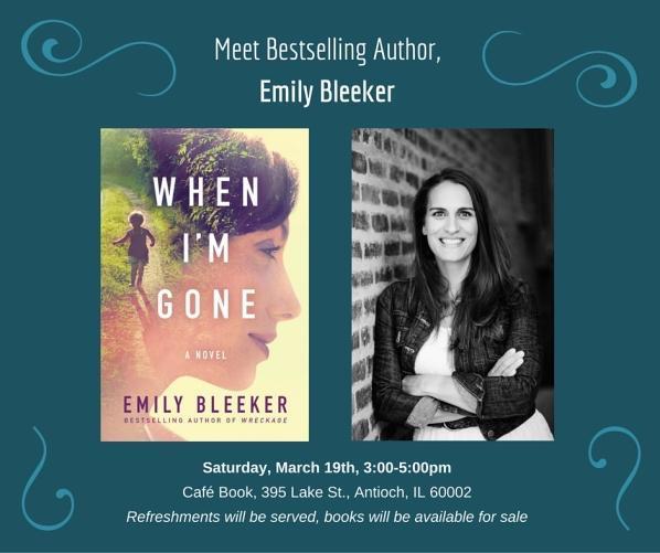 Meet Bestselling Author,Emily Bleeker